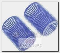 Бигуди-липучки синие d 16 мм 12 шт/уп