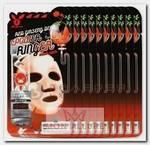 Маска тканевая с красным женьшенем для лица / Red Ginseng Deep Power Ringer Mask Pack 10 шт