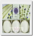Набор натурального мыла, лаванда / Lavender 3 х 150 г