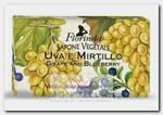 Мыло растительное, виноград и черника / Uva e Mirtillo 200 г