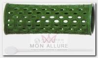 Бигуди пластиковые зеленые d 26 мм 12 шт/уп
