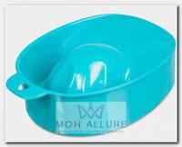 Ванночка для маникюра, бирюзовая / DGP