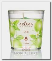 Свеча ароматическая Лайм 160 г