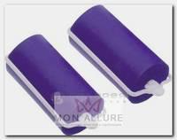 Бигуди резиновые сиреневые, d 25x70 мм 10 шт