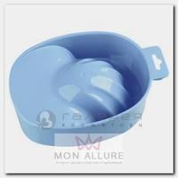 Ванночка пластиковая для маникюра, 19 голубая