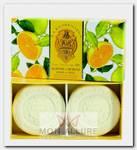 Набор натурального мыла, цитрус / Citrus 2 х 115 г