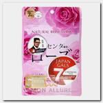 Маска натуральная для лица с экстрактом розы / Natural Mask 7 шт