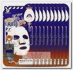 Маска тканевая с эпидермальным фактором роста для лица / EGF Deep Power Ringer Mask Pack 10 шт