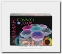 Миски для окрашивания, соединяющиеся цветные / Connect & Color Bowls Rainbow 7 шт