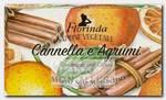 Мыло растительное, корица и цитрус / Cannella e Agrumi 200 г