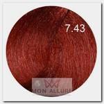 7.43 краска для волос, блондин медно-золотой / B.LIFE COLOR 100 мл