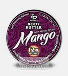 Масло твердое с маслом манго, маслом карите и бронзаторами для загара в солярии / Mango 150 мл