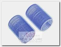 Бигуди-липучки синие d 52 мм 6 шт/уп
