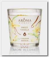 Свеча ароматическая Сладкая ваниль 160 г