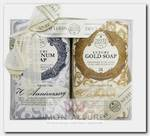Набор мыла для тела (юбилейное золотое + юбилейное платиновое) / Anniversary Platinum & Gold 2*250 г