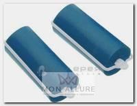 Бигуди резиновые синие, d 16x70 мм 10 шт