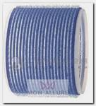 Бигуди-липучки синие 80 мм 3 шт/уп