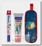Набор детский в мягком пенале (зубная паста 75 мл, зубная щетка мягкая) Junior Kit