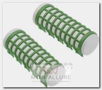 Бигуди термо зеленые, d 23 x 68 мм 6 шт