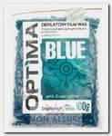 Воск пленочный в гранулах, азулен / OPTIMA BLUE 100 г