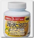Мультивитамины и минералы со вкусом манго, таблетки 180 шт