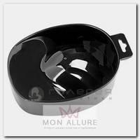 Ванночка пластиковая для маникюра, 02 черная