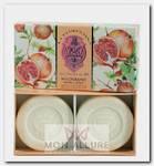 Набор натурального мыла, гранат / Pomegranate 2 х 115 г