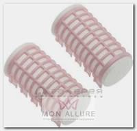 Бигуди термо розовые, d 32x68 мм 6 шт