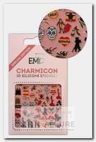 Декор для ногтей Испания 1 / Charmicon 3D Silicone Stickers
