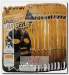 Маска тканевая для лица / Black Charcoal Honey Deep Power Ringer Mask Pack 10 шт