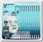 Маска тканевая увлажняющая для лица / Aqua Deep Power Ringer Mask Pack 10 шт