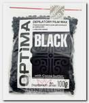 Воск пленочный в гранулах, с маслом какао / OPTIMA BLACK 100 г