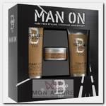 Набор мужской для волос (шампунь 250 мл, кондиционер 200 мл, воск 85 г) BED HEAD FOR MEN DANDY