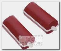 Бигуди резиновые красные, d 22x70 мм 10 шт